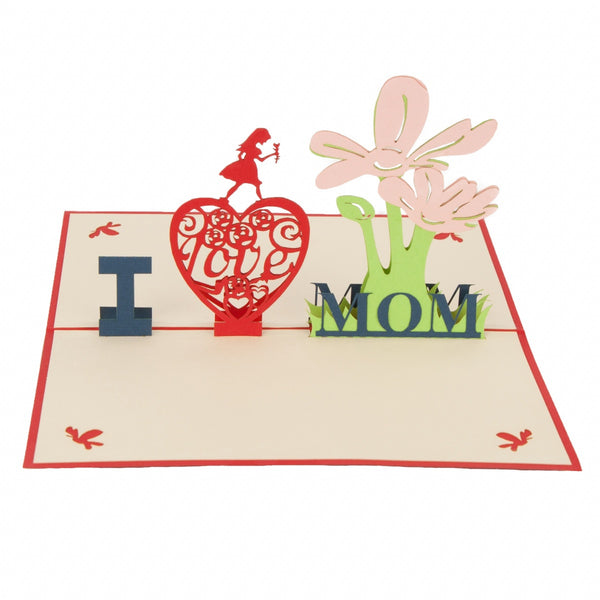 Mom Pop-Up 3D Greeting Card