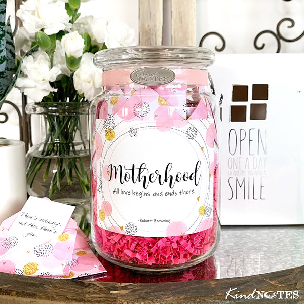 Motherhood Jar of Notes