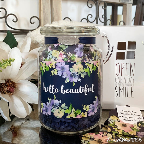 Sweet Blossoms Hello Beautiful Jar