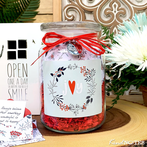 Twigs & Berries Jar of Notes Co-Worker Gift