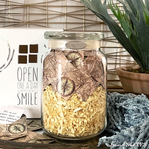 Time Travel Jar with INSPIRATIONAL Messages (Wholesale)
