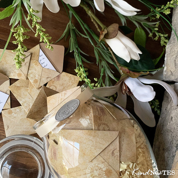 Vintage Letters Jar with SYMPATHY Messages (Wholesale)