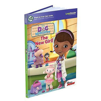 LeapFrog LeapReader book Doc McStuffins- The New Girl