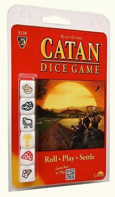Catan Dice Game - Settlers Catan - Brand New Sealed - Klaus Teuber