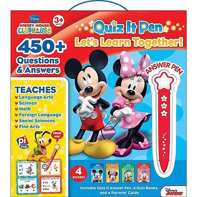 Mickey Mouse Clubhouse(tm) Quiz It Pen : Let's Learn Together! (2012, Kit)