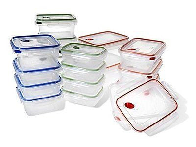 STERILITE 03078601 Ultra-Seal Food Storage Set 36 Piece