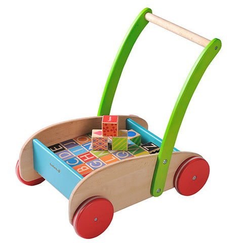 Maxim Activity Walker With Blocks