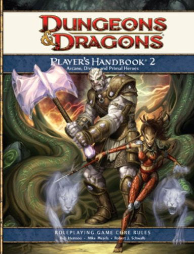 Dungeons and Dragons Player's Handbook 2- Primal, Arcane and Divine Heroes