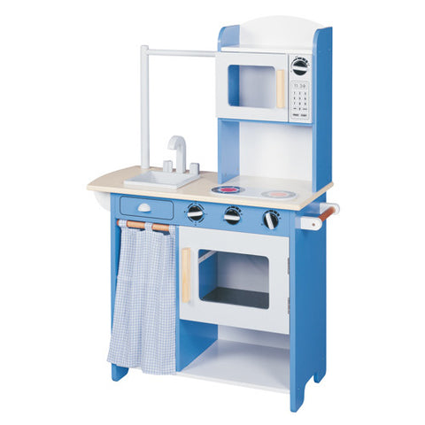 Maxim Kitchen Center Blue