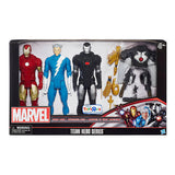 Marvel Avengers Titan Series 3 Pk Iron Man, WarMachine, Quicksilver+Accessories