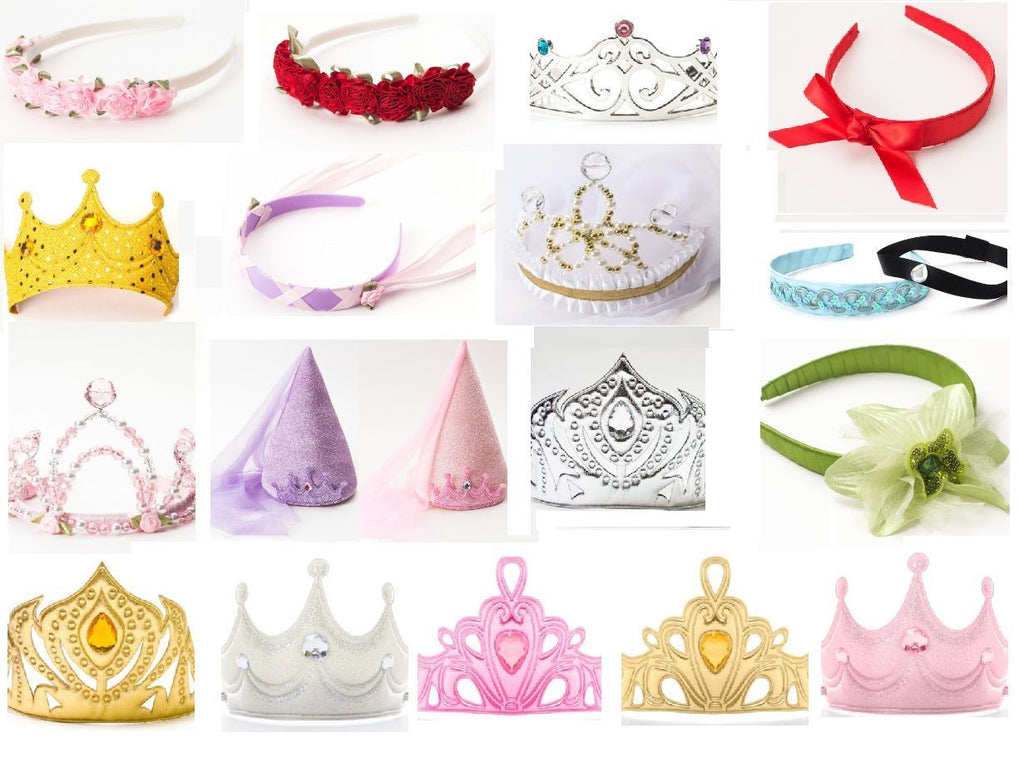 Little Adventures Princess Crowns and Headbands One Size