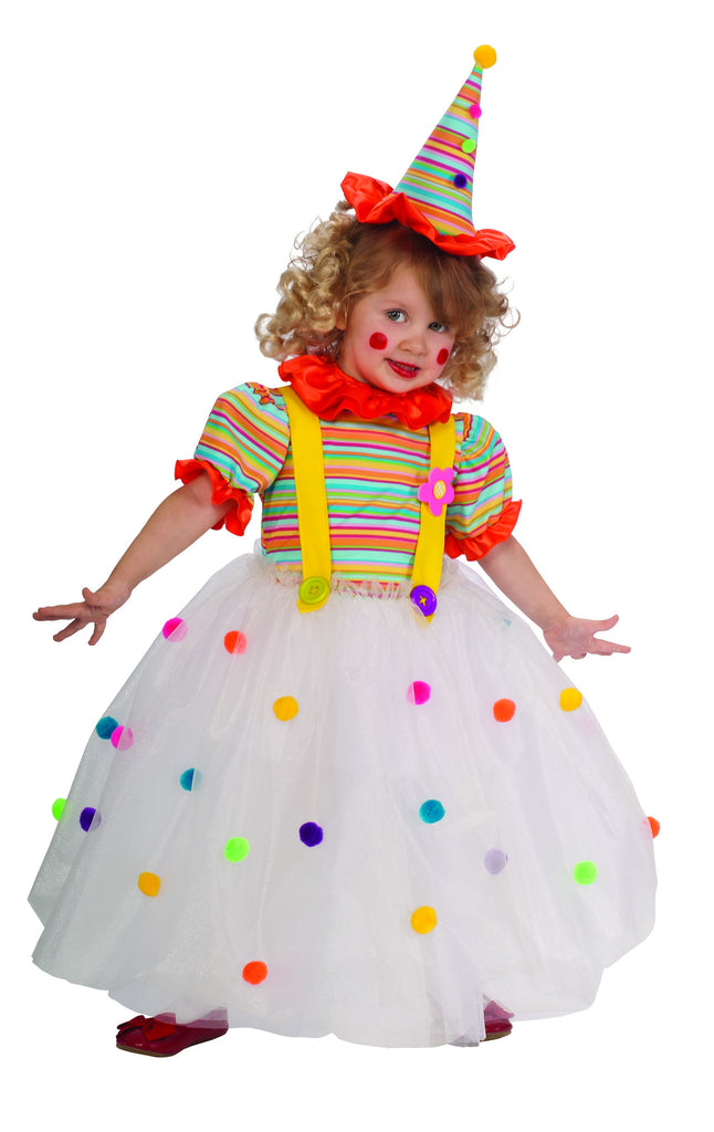 Candy Clown Costume for Girls By Rubie's