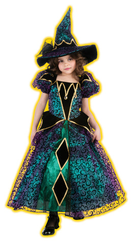 Radiant Witch Costume for Girl's By Rubies