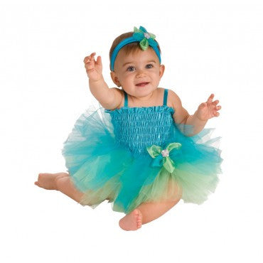 Blue Green Tutu Dress for Baby By Rubie's