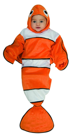Rubie's Guppy Clownfish Bunting Costume for Newborns