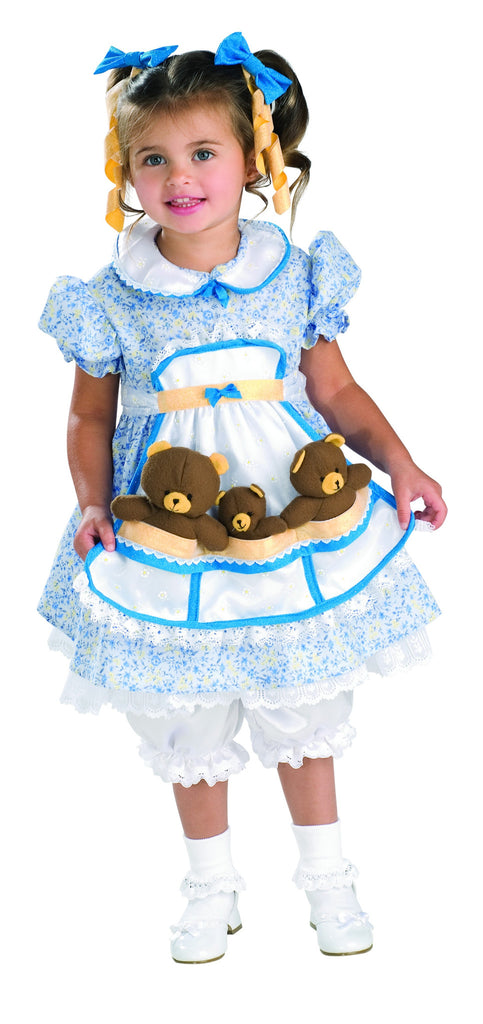 Goldilocks Toddler Costume for Girls By Rubie's