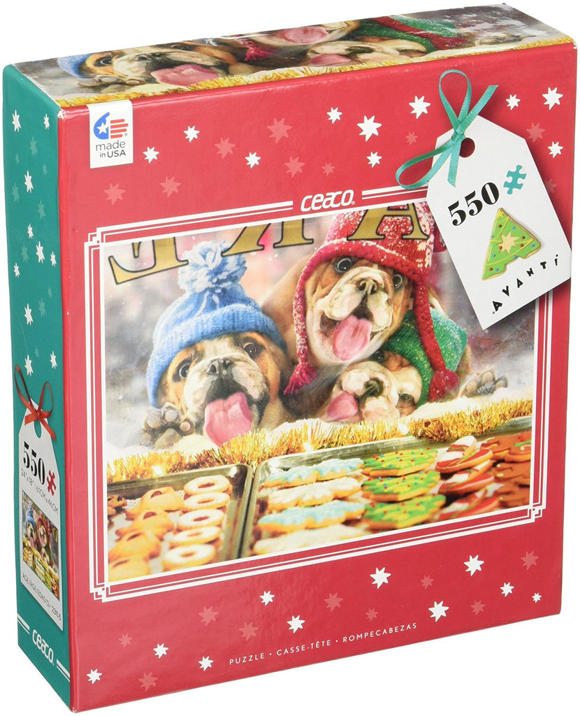 Ceaco Avanti Christmas - Holiday Window Shopping Puzzle 550 Piece