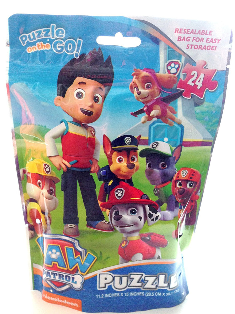 Paw Patrol Puzzle On The Go 24 Pcs