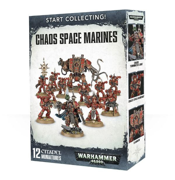 Start Collecting! Chaos Space Marines (70-43)