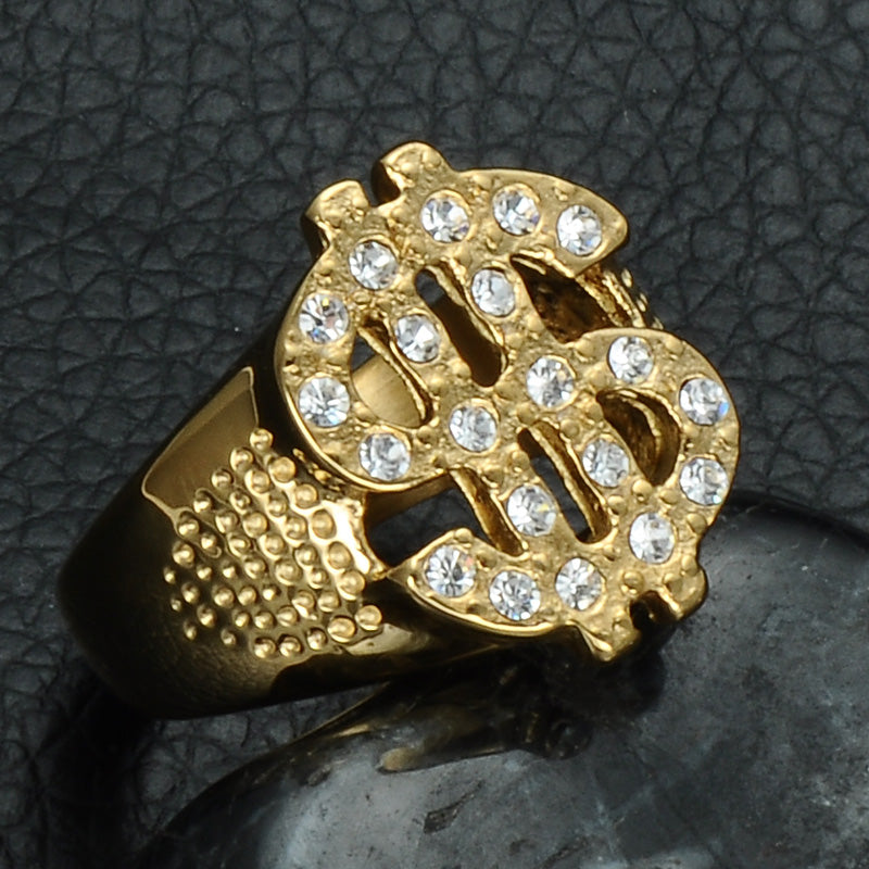 Gold Dollar Ring – Legacy TimePieces