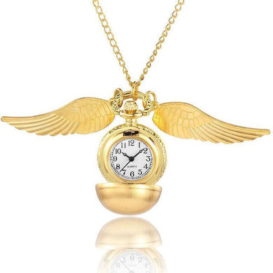 Winged Pocket Watch