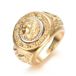 Lion Head Legacy Ring