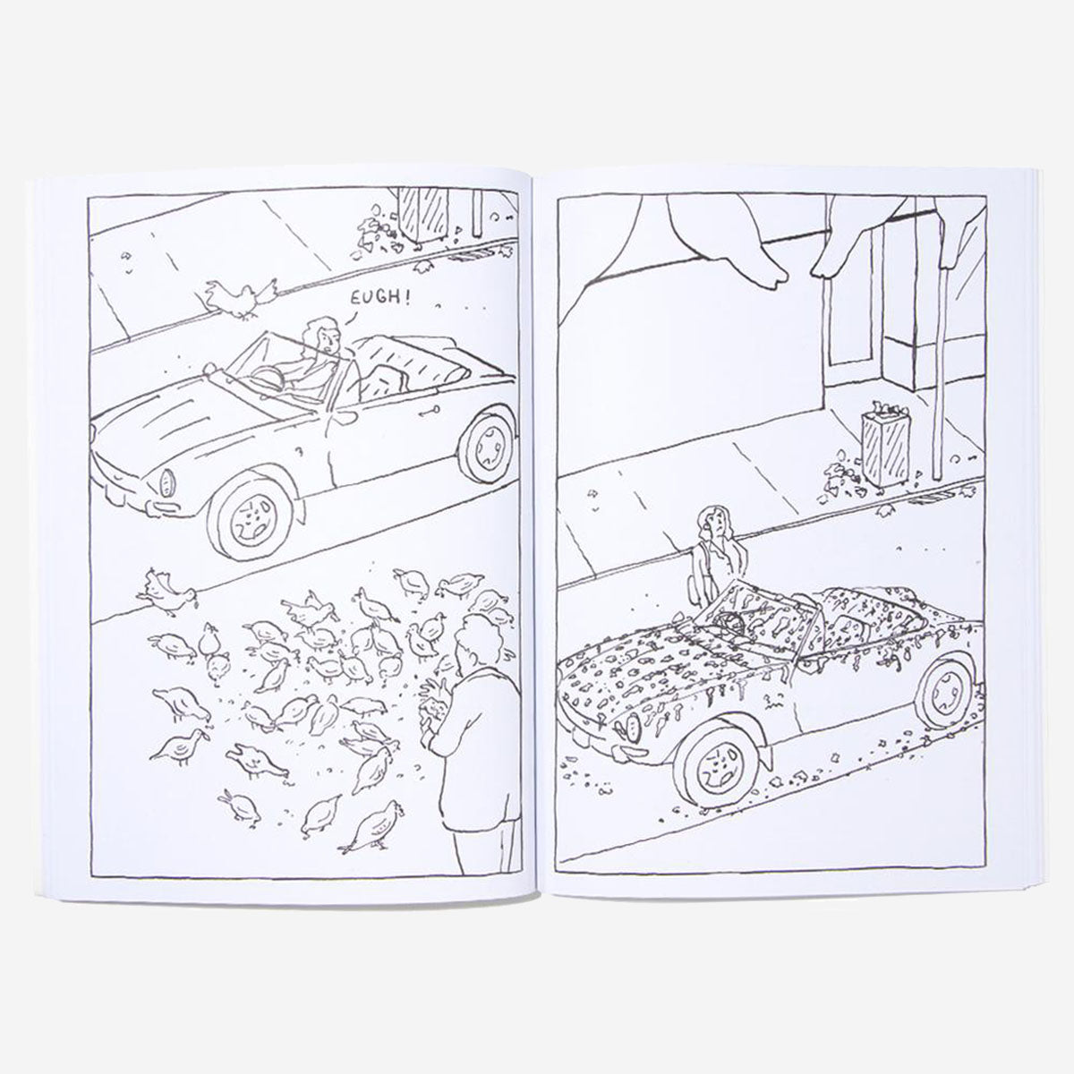 This Annoying Life Colouring Book
