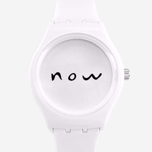 Timeless Watch (White)