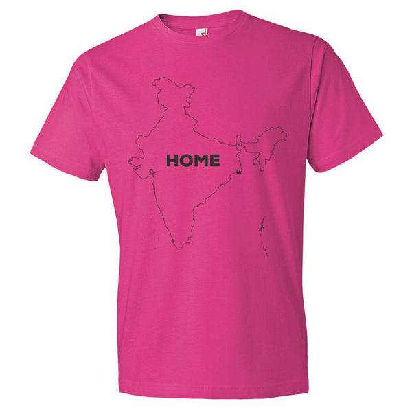 India Bordered Home T-Shirt
