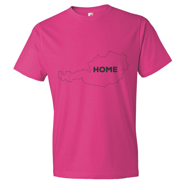 Austria Bordered Home T-Shirt - trendsettashop
