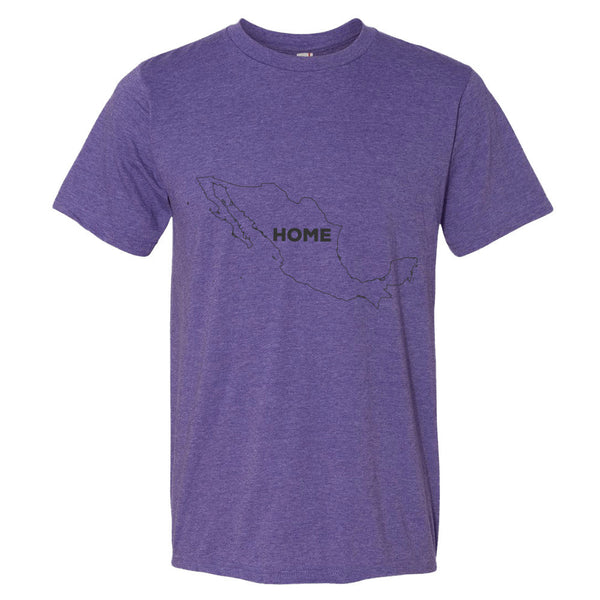 Mexico Bordered Home T-Shirt - trendsettashop
