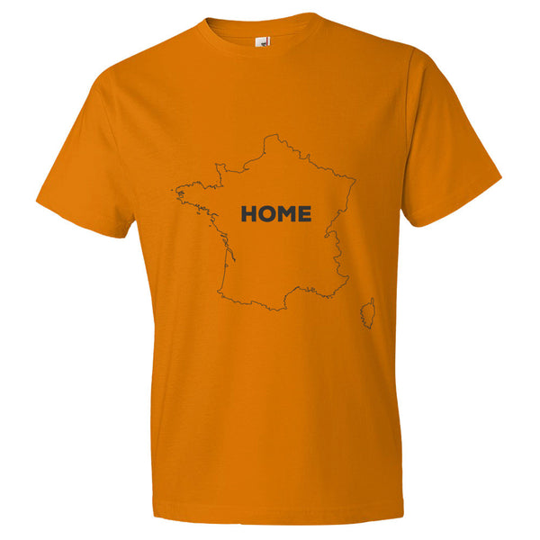 France Bordered Home T-Shirt - trendsettashop