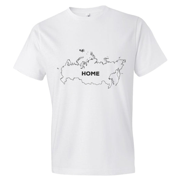 Russia Bordered Home T-Shirt - trendsettashop