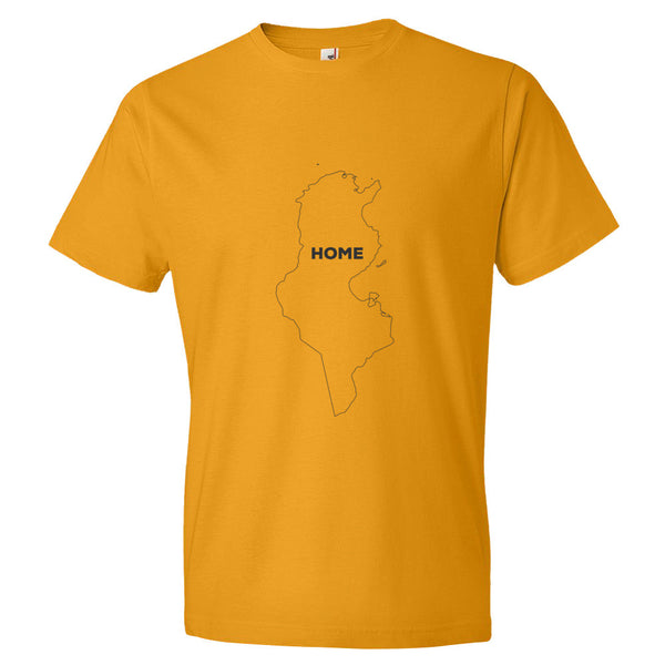 Tunisia Bordered Home T-Shirt - trendsettashop