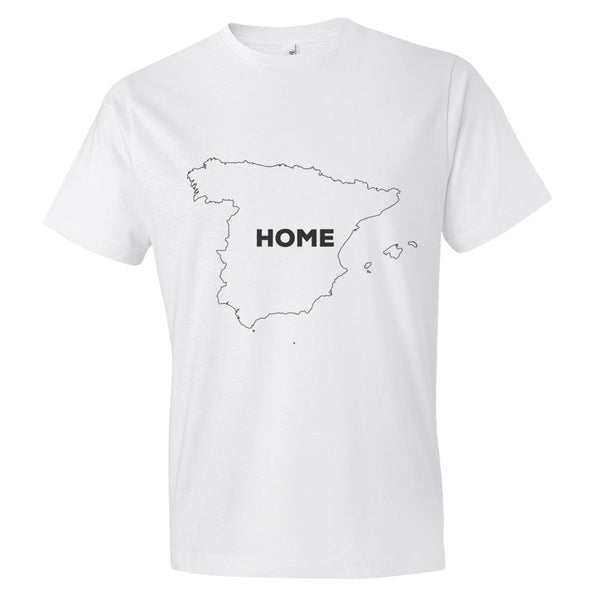 Spain Bordered Home T-Shirt - trendsettashop