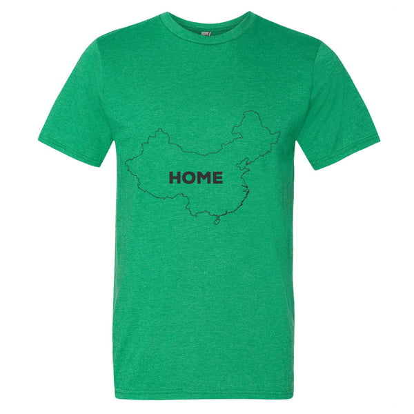 China Bordered Home T-Shirt - trendsettashop