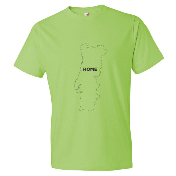 Portugal Bordered Home T-Shirt - trendsettashop
