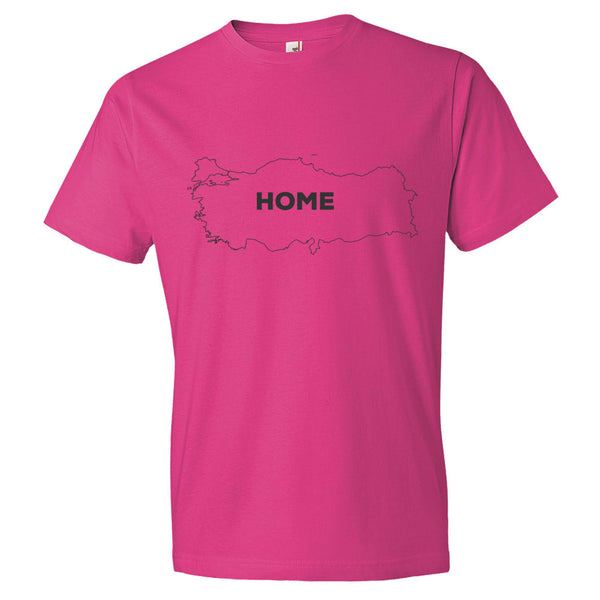 Turkey Bordered Home T-Shirt - trendsettashop