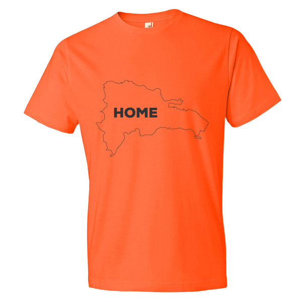 Domnican Republic Bordered Home T-Shirt - trendsettashop