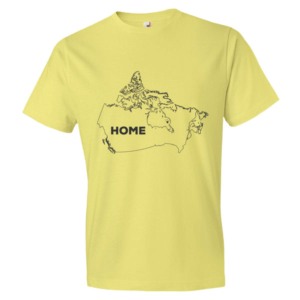 Canada Bordered Home T-Shirt - trendsettashop