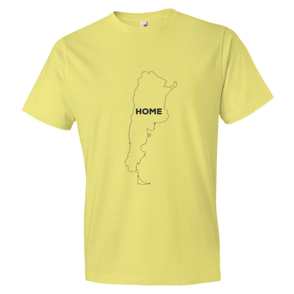 Argentina Bordered Home T-Shirt - trendsettashop