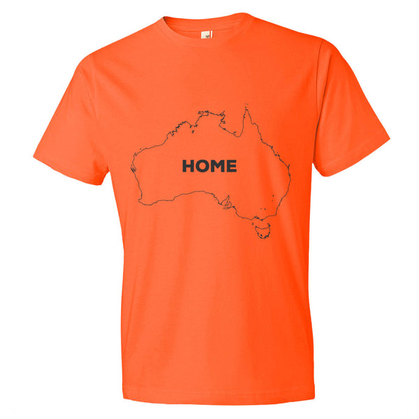 Austrailia Bordered Home T-Shirt - trendsettashop