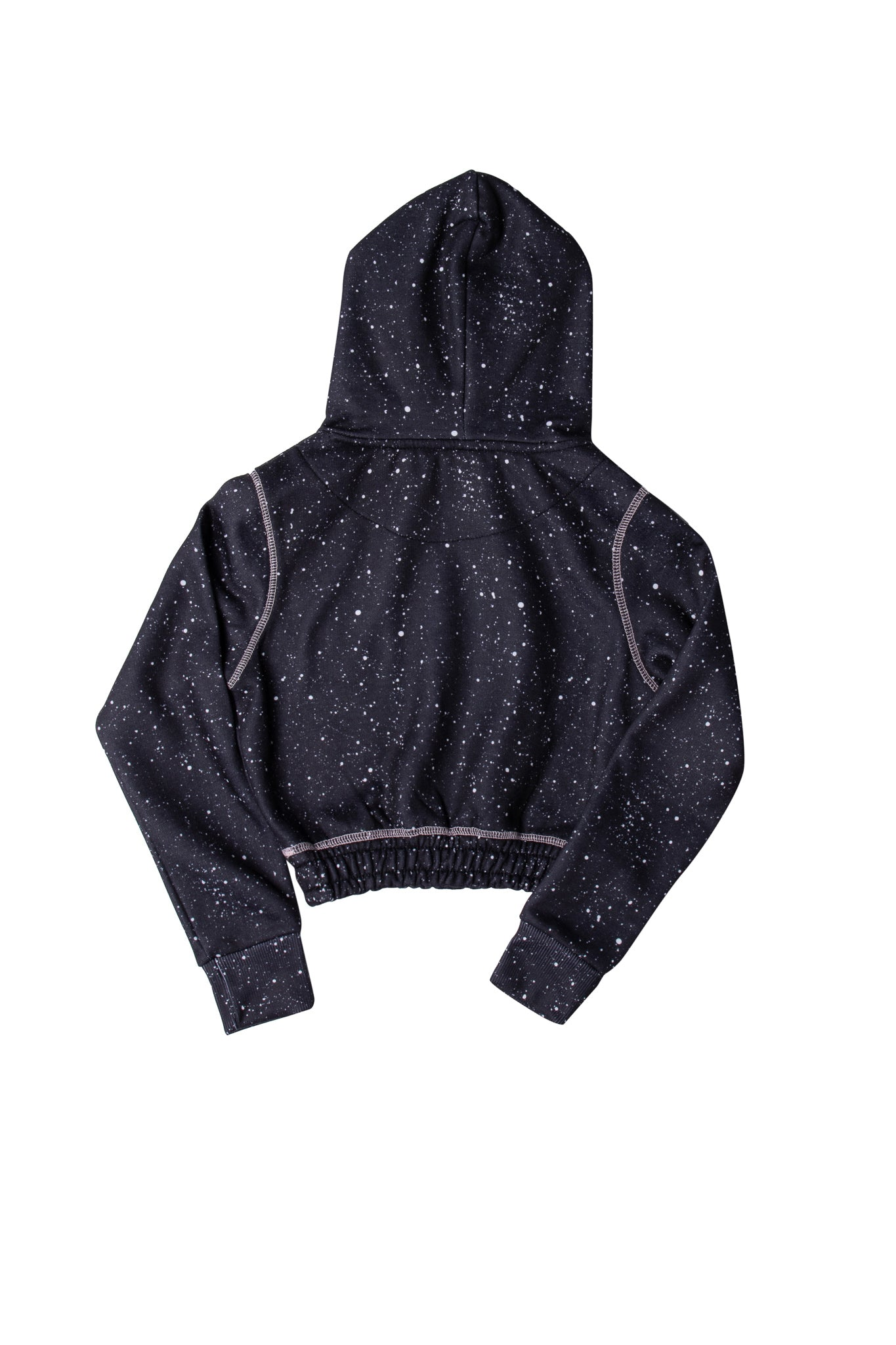 Girl's Drop Tracksuit in Black