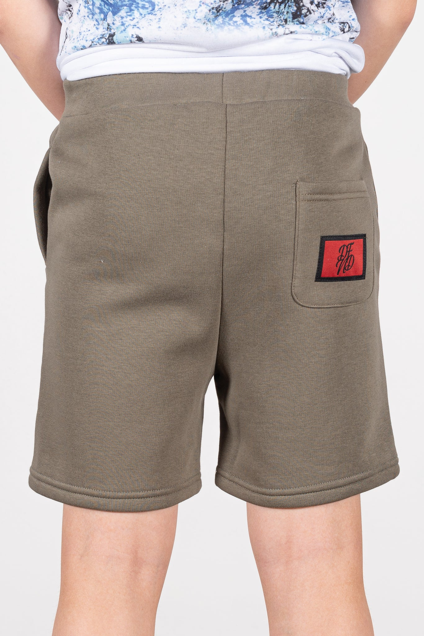 Boy's Wright Shorts in Khaki - DEFEND LONDON