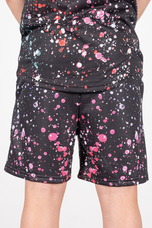 Boy's Richmond Shorts in Black - DEFEND LONDON