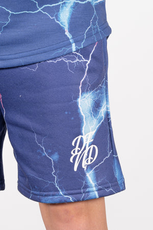 Boy's Light Shorts in Blue - DEFEND LONDON