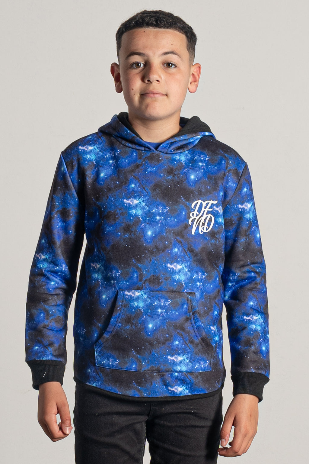 Boy's Highlife Hoodie in Blue