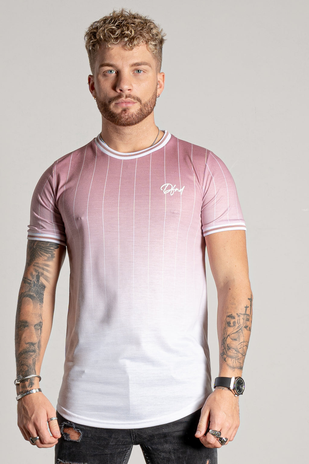 Men's Primo T-Shirt in Pink