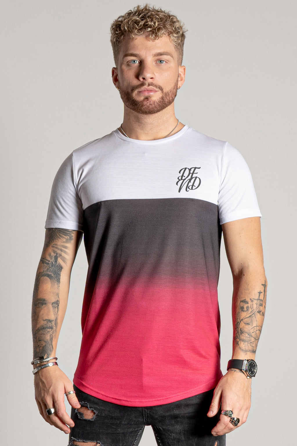 Men's Bristle T-Shirt in Pink