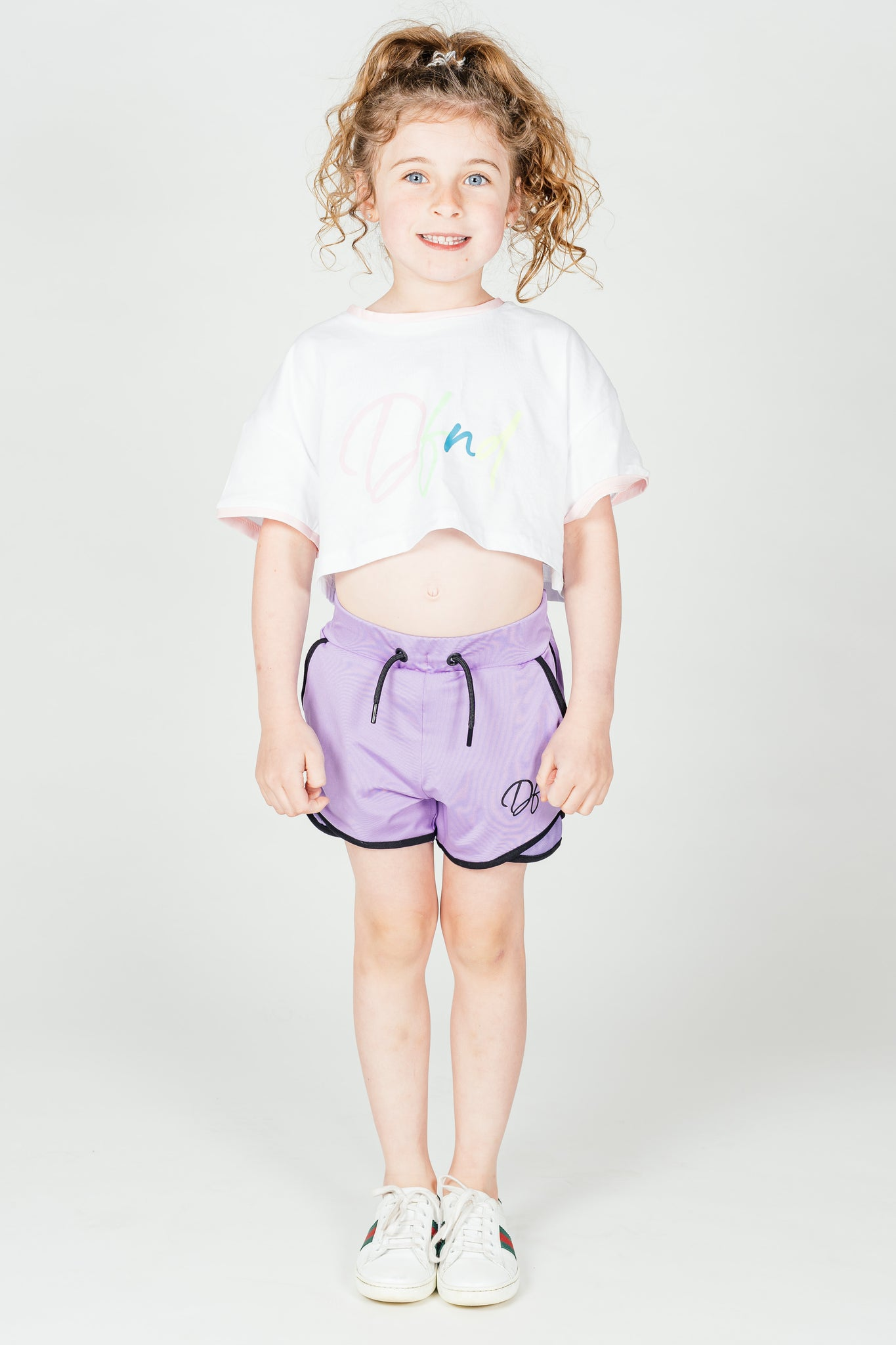 Girl's Piccadilly Shorts in Lilac - DEFEND LONDON